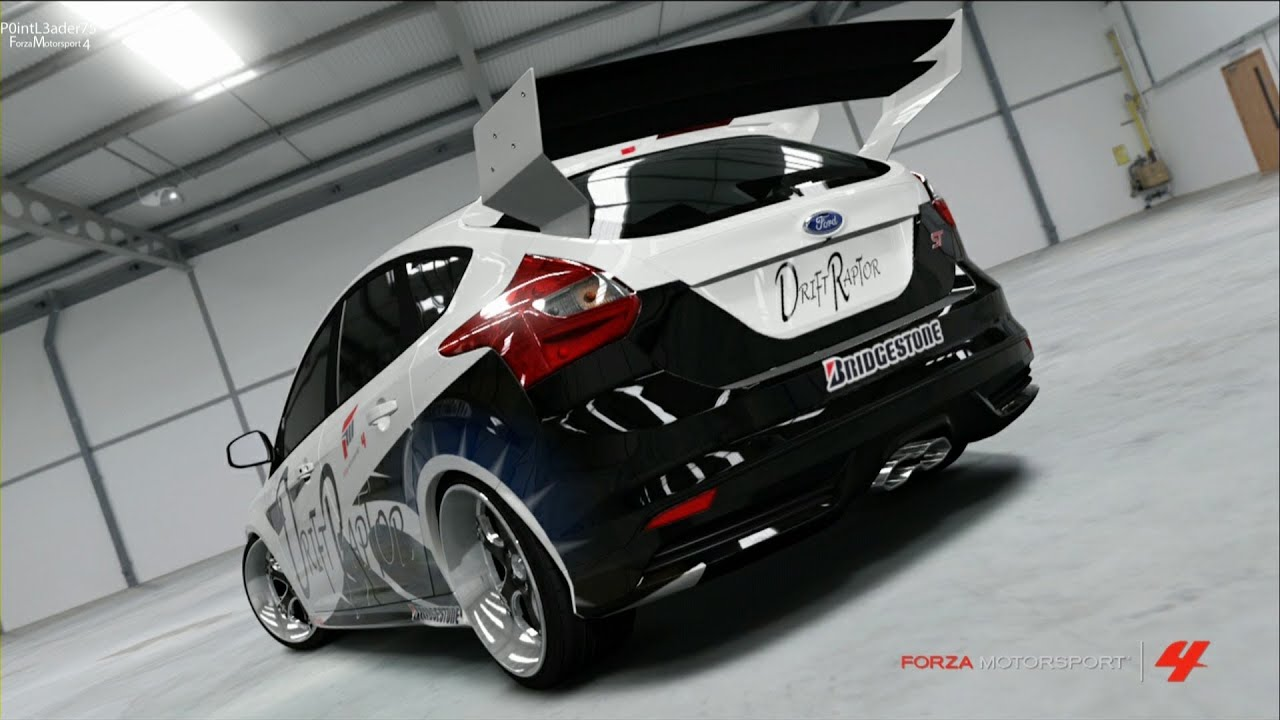 Ford focus st 13 925 hp awd rally drifter forza motorsport 4 youtube