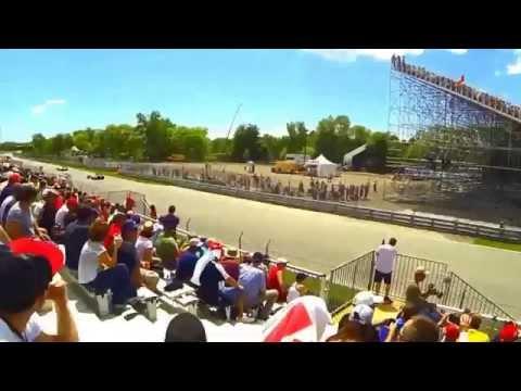 souvenir des qualifs F1 à Montréal 2014