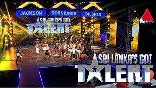 SL Air Force '(අංගම්පොර) Angampora Team'  Wins Dilshan's GOLDEN BUZZER ! Sri Lanka's Got Talent 2018 Thumbnail