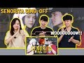 [REAKSI ORANG KOREA] Señorita SING-OFF REZA VS NADAFID | Reza Darmawangsa | Korean Reaction