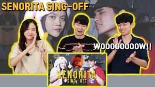 Download lagu Señorita SING OFF REZA VS NADAFID Reza Darmawangsa Korean Reaction
