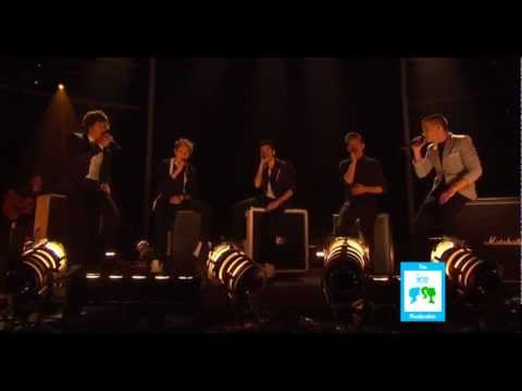 First Live Performance Of Little Things - The X Factor USA 2012 - 08/11/2012