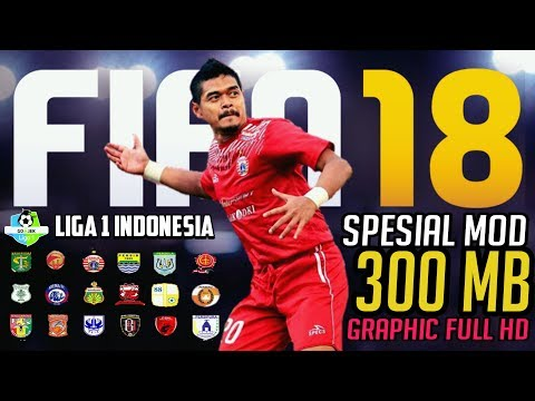 Download & Instal Fifa 18 mod Gojek Liga 1 Indonesia Bukalapak | FTS new kit update full HD