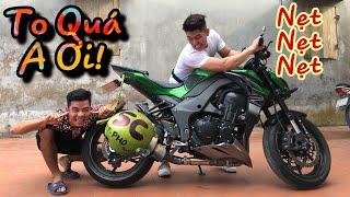 Độ Pô SC Dừa Trên Kawasaki Z1000 Của PHD Troll | Tới Tài Tử Troll Mất Xe Hài Hước