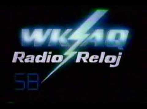 Comercial Retro- WKAQ Radio Reloj