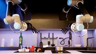 The Moley Robotic Kitchen Cooks Your Meals