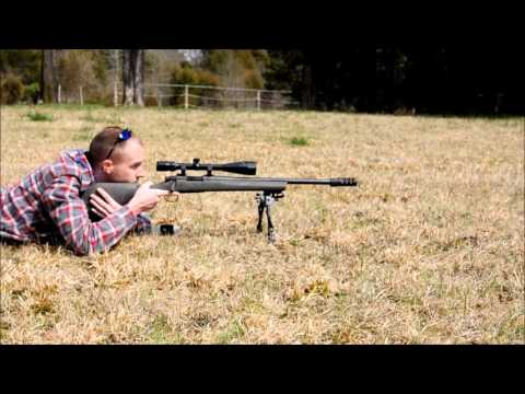 Remington 700 sps aac-sd 308, without and with muzzle brake