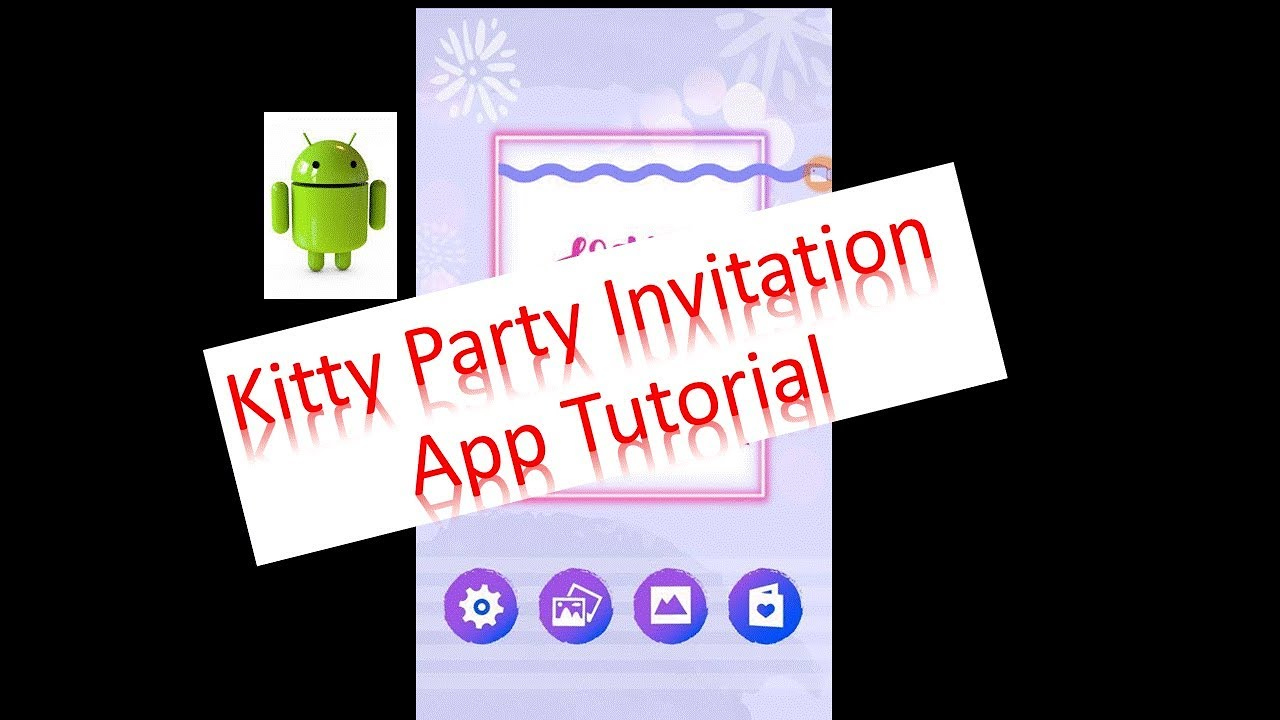 2018 extraordinar kitty party invitation making mobile app how