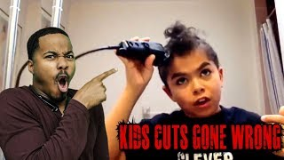 CRAZY KIDS HAIRCUTS GONE WRONG REACTION