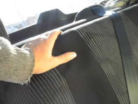 как утеплить заднее сидение на рено логан