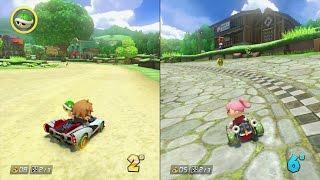 Let's Play MARIO KART 8 DLC Animal Crossing Nintendo Wii U FR feat. Nami Joly