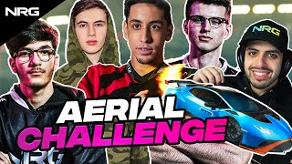 Last to Touch The Ground Wins... NRG Rocket League Aerial Challenge