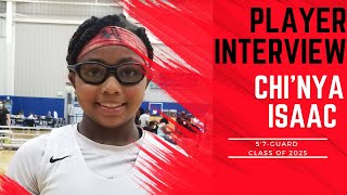 A1 Hoops Report Coach Allen interviews 2025 Chinya Isaac