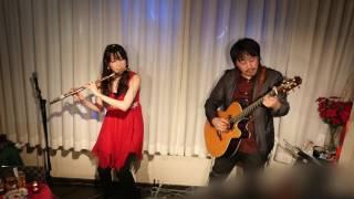 2016.12.20 フルートとギターのユニット「Fairy tale」のライブ演奏。 ...