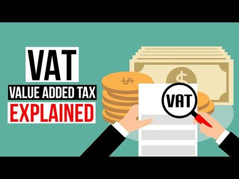 VAT - Value Added Tax Explained