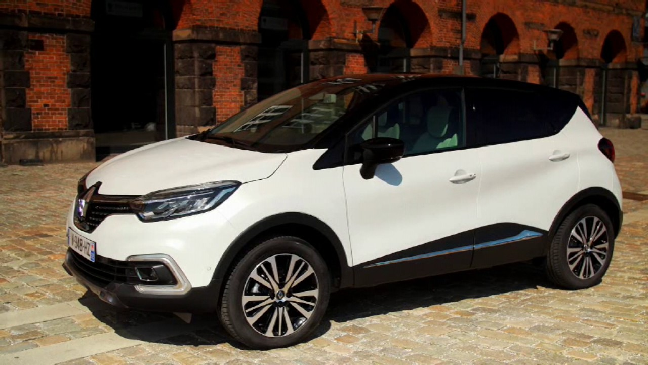 Renault Captur 2018 White Driving Exterior Interior Official Video Youtube