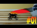 #01-Glowing 1000 degree knife VS drone