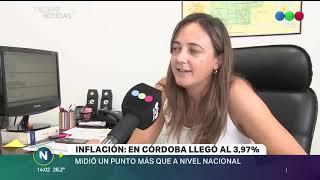LA INFLACIÓN DE ENERO EN CÓRDOBA ALCANZÓ CASI EL 4%