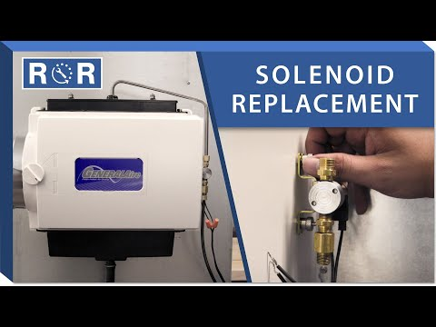 Humidifier Solenoid: Repair and Replace (GeneralAire GF-1042)