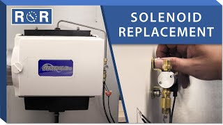 Humidifier Solenoid: Repair and Replace (GeneralAire GF-1042)