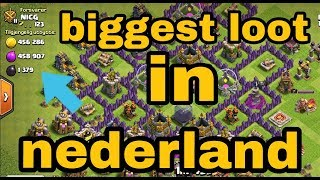 Clash of clan attack in nederland language | best attack in coc | Technical Moin