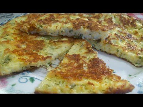 Сыр-хачапури на  сковороде