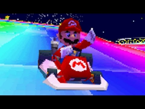 Mario Kart DS - All Tracks On 150cc