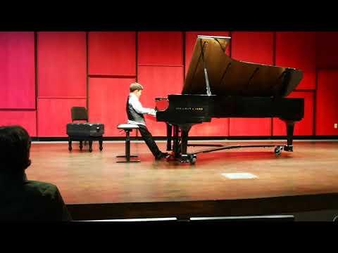 David El Chino plays Paderewski the minuet in G