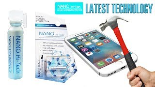 Hi-Tech Nano Liquid Screen Protector For All Smartphones And Tablets Latest Technology Review