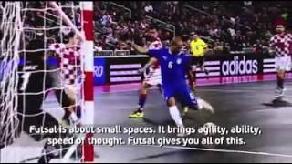 Football star players explain to you why to play futsal