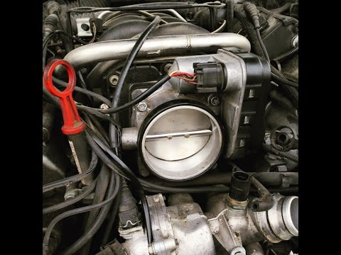 How to clean a DRIVE BY WIRE electronic throttle body !!!!
