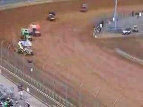 WoO Kerry Madsen Flip 5.24.08 Virginia Motor Speedway