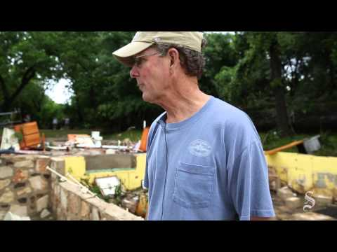 Flooding destroys homes in Wimberley
