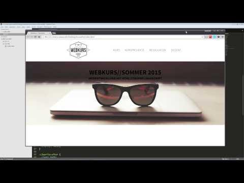 Webkurs – HTML-Seite erstellen – Teil 1