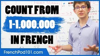 French Numbers - Counting from 1 to 1 Million