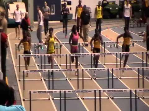 Briana KennedyFeldhaus 60m Hurdle Finals  8.66