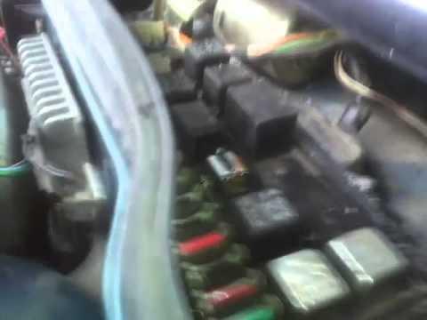 ВАЗ 21099 Проверка вентилятора