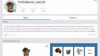 MY NEW ROBLOX NAME FROM Bendy_YT091 TO TheRobloxian_star190 YAYAYAYYAAYAYAYAY
