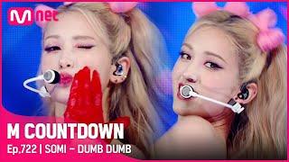Download [SOMI - DUMB DUMB] KPOP TV Show   #엠카운트다운 EP.722   Mnet 210826 방송