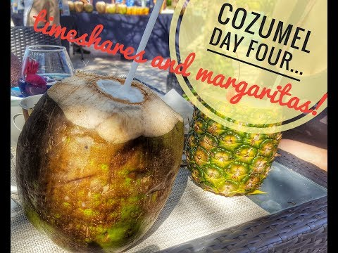 Cozumel Vlog Day Four (Timeshares and Margaritas)
