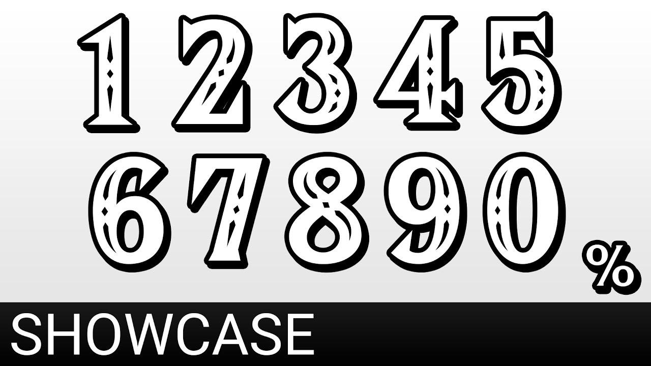 Hylia Serif Damage Font Super Smash Bros Wii U Gui Mods