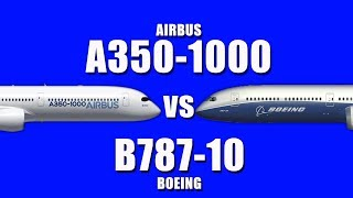 Airbus A350-1000 vs Boeing 787-10..!  Which is your favorite ?