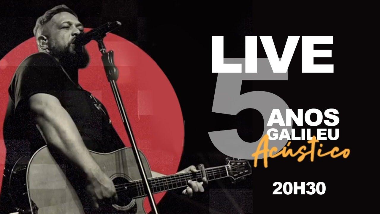 Fernandinho - Live Galileu 5 anos | Acústico | Estúdio Faz Chover