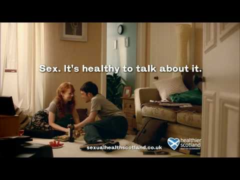 Sexual health scotland advert