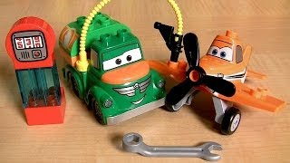Lego Duplo Disney Planes Dusty And Chug Fuel Truck The World Above Pixar Cars 10509