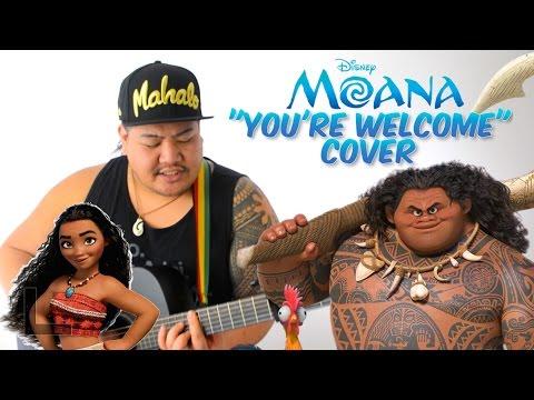 You're Welcome from Disney's MOANA - Cover by Jon Cardona (Jordan Fisher/Lin-Manuel Miranda Version)