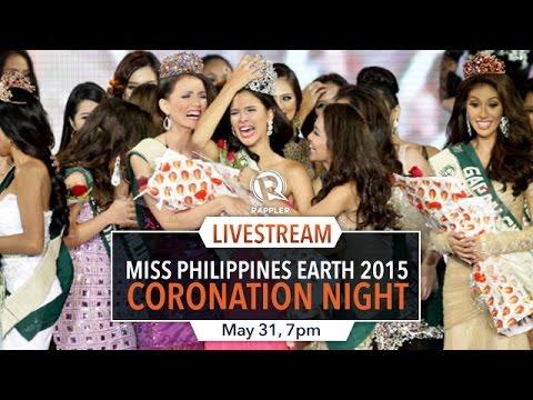 Miss Philippines Earth 2015 Coronation live stream