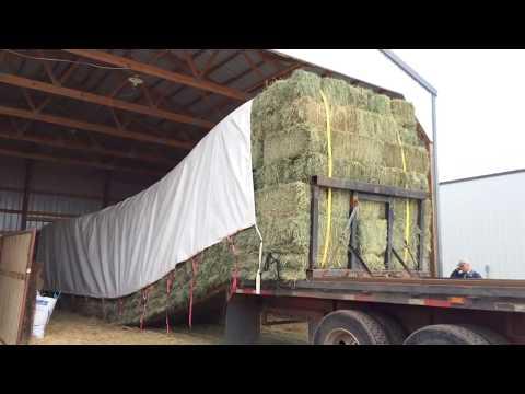 Unloading Hay the Easy Way