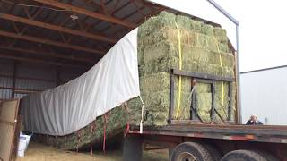 Unloading Hay the Easy Way