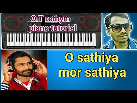 O sathiya mor sathiya umakant  sambalpuri song key board play